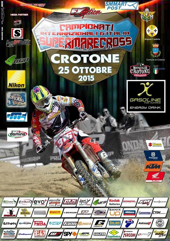 2015 supermarecross crotone