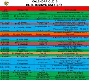 2016 calendario turismo 2016